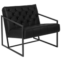 Millennia Modern Black Tufted Lounge Chair