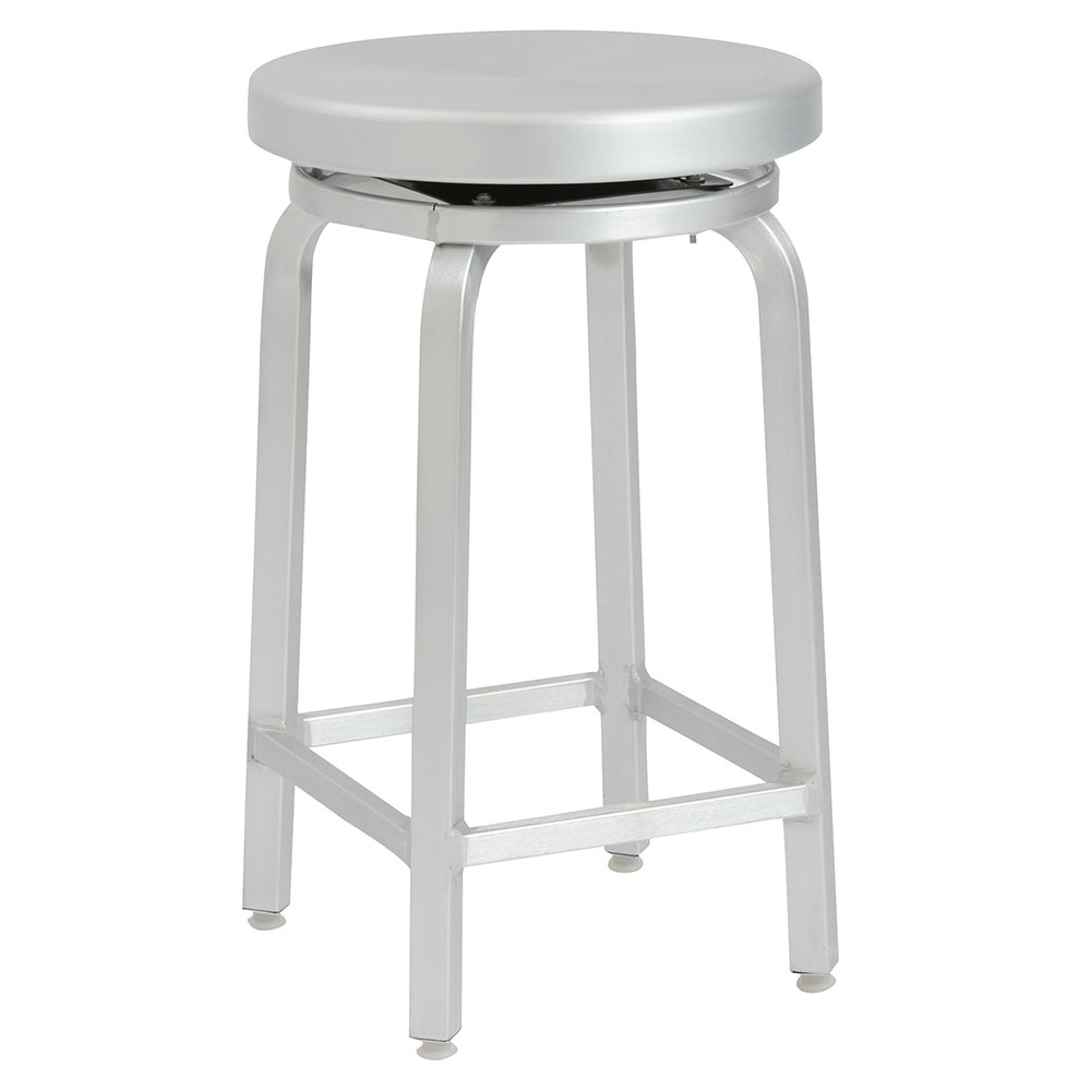 Miller-C Modern Aluminum Counter Stool by Euro Style