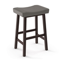Miller Modern Counter Stool by Amisco in Oxidado + Stratus