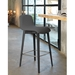 Pezzan Milo Modern Counter Stool in Anthracite