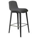 Milo Modern Bar Stool in Anthracite by Pezzan