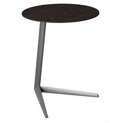 Milo Laptop Table by BDI in Charcoal Stained Ash