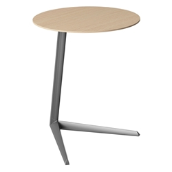 Milo Laptop Table by BDI in Drift Oak