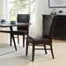 Milt Dining Chair in Coffee Bean Bonded Leather