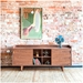 Mimico Modern Buffet and Cabinet by Gus Modern in Walnut