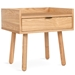 Mimico Contemporary End Table by Gus Modern in Natural Ash