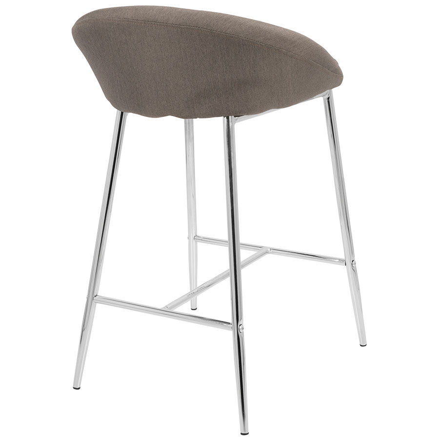 Modern Counter Stools Minnesota Gray Counter Stool Eurway : minnesota counter stool gray chrome back from www.eurway.com size 900 x 900 jpeg 53kB