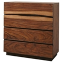 Missoula Live Edge Contemporary Chest of Drawers