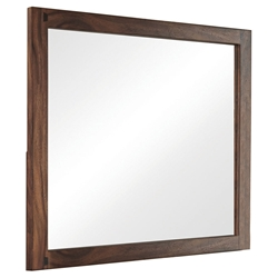 Missoula Modern Smokey Walnut Mirror