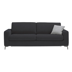 Mistral Modern Sleeper Sofa in Dark Grey by Pezzan