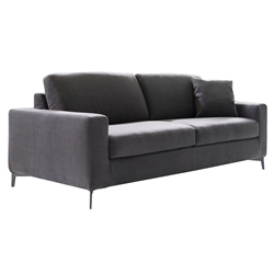 Mistral Modern Sleeper Sofa in Grey by Pezzan