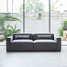 Mix Modular 2 Piece Sofa in Vintage Smoke by Gus Modern