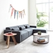 Mix Modular 4 Piece Sectional in Berkeley Shield by Gus* Modern