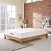 "Modsoft Aveline 10"" Gel-Infused Queen Size Mattress in Room Setting"