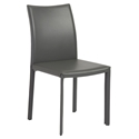 Molly Modern Gray Side Chair by Euro Style