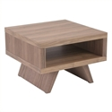 Monique Modern Walnut End Table