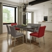 Monroe Modern Dining Chair + Bench