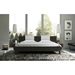 Modloft Monroe Modern Platform Bed in Gray Oak - Lifestyle Front