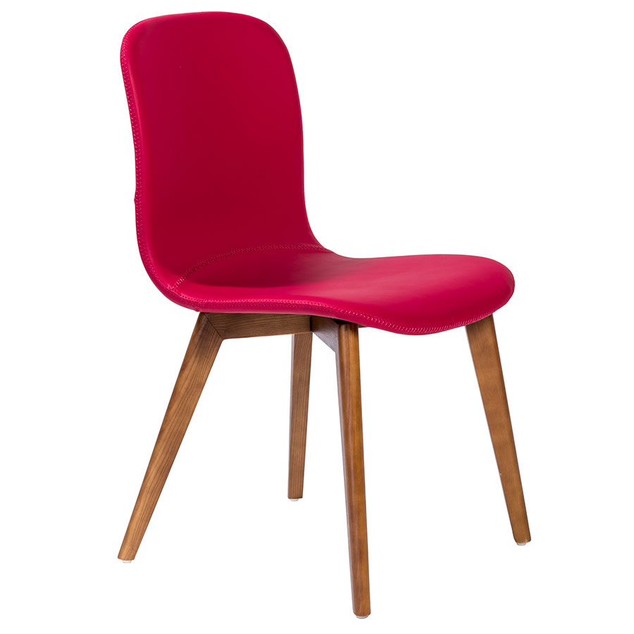 Popular 205 list contemporary red dining chairs for Red modern dining chairs