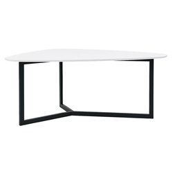 Morty Modern White Multi-Function Table by Euro Style