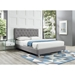Mosley Gray Tufted Modern Queen Sized Bed