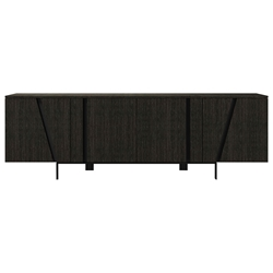 Modloft Mott Modern Sideboard in Gray Oak