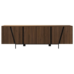 Modloft Mott Modern Sideboard in Walnut