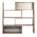 Move Contemporary Shelving Unit Front Expanded