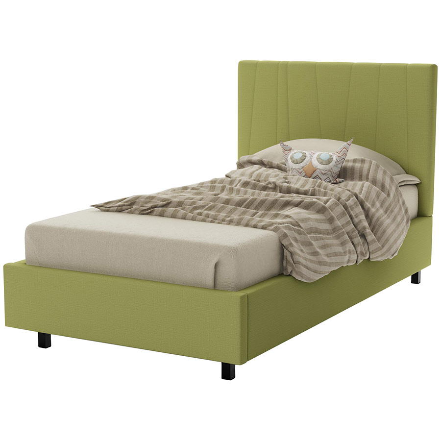 Namaste Contemporary Bed in Fresh by Amisco