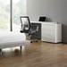 Nancy White Modern Adjustable Desk - Room Setting