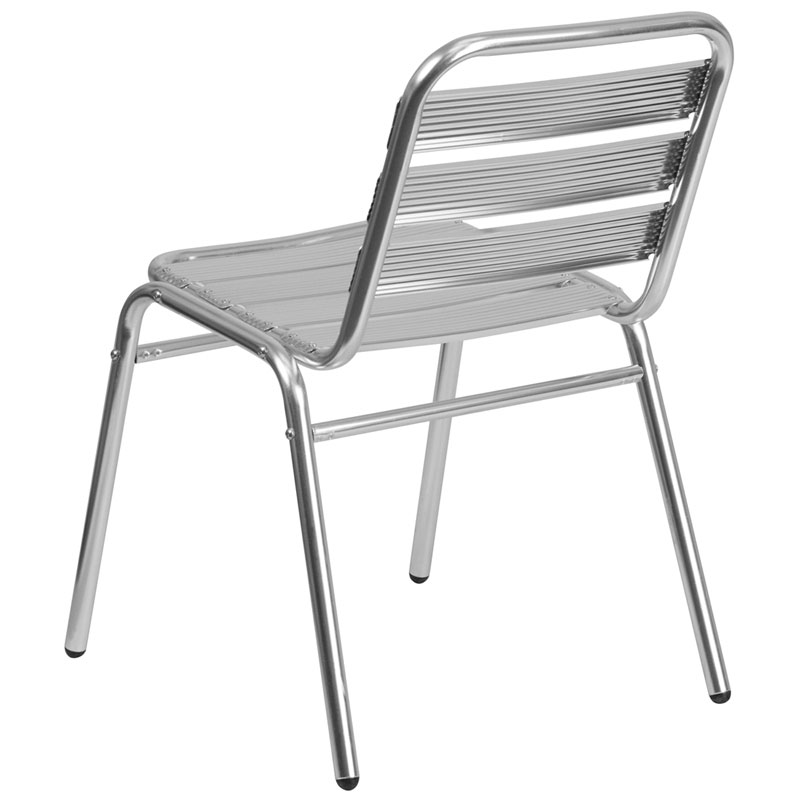 Attirant ... Naples Modern Indoor/Outdoor Side Chair   Back View