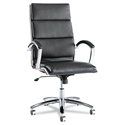 Napoli Modern High Back Black Office Chair