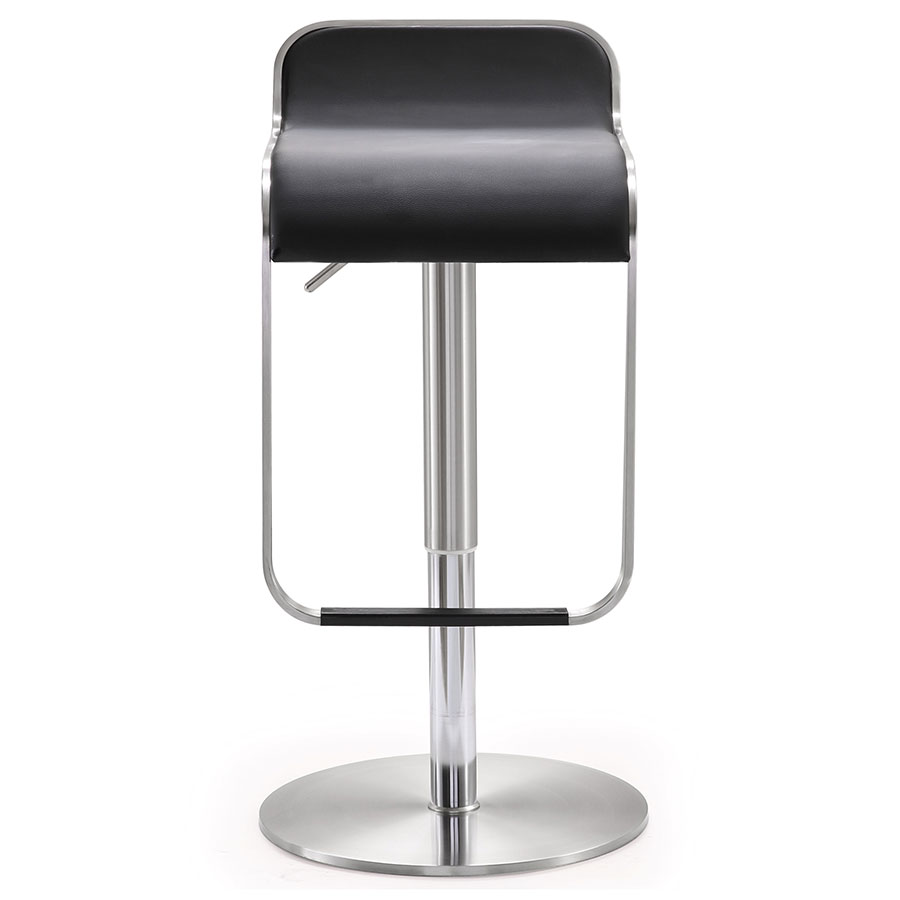 Narbonne Contemporary Black Adjustable Stool
