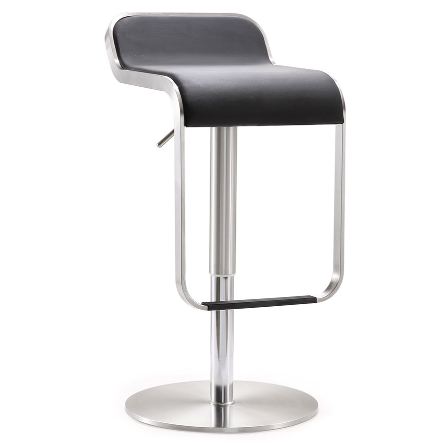 Modern Stools Narbonne Black Adjustable Stool Eurway