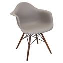 Nashua Brown Modern Arm Chair