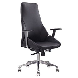 Natasha Black Modern Executive Office Chair