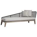 Modloft Netta Modern Outdoor Left Chaise