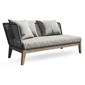 Modloft Netta Modern Outdoor Left Arm Sofa