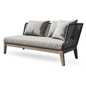 Modloft Netta Modern Outdoor Right Arm Sofa