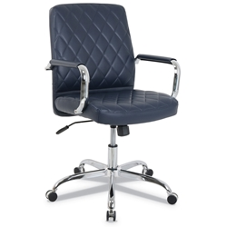 Nevada Modern Navy Blue Office Chair