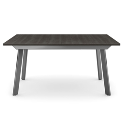Nexus Modern Dining Extension Table by Amisco - Magnetite/Hazy