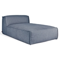 Gus* Modern Nexus Modular Chaise in Thea Marine Fabric