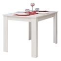 Nice 43 in. Matte White Dining Table by TemaHome
