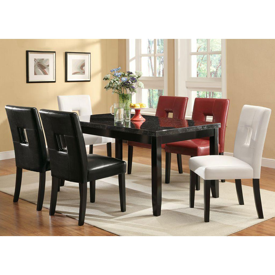 Red And Black Dining Room Sets: Nicholas Red Modern Dining Chair