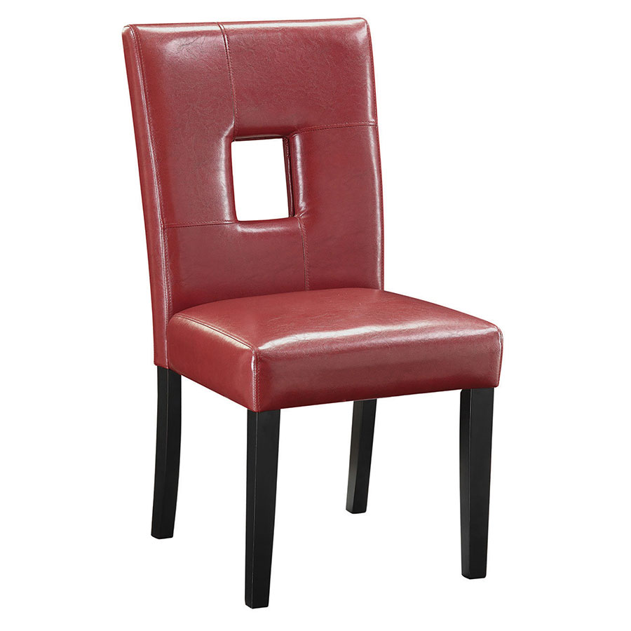 red dining chairs nicholas modern dining chair eurway furniture 28505