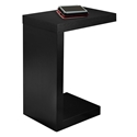 Nick Modern Black Accent Table