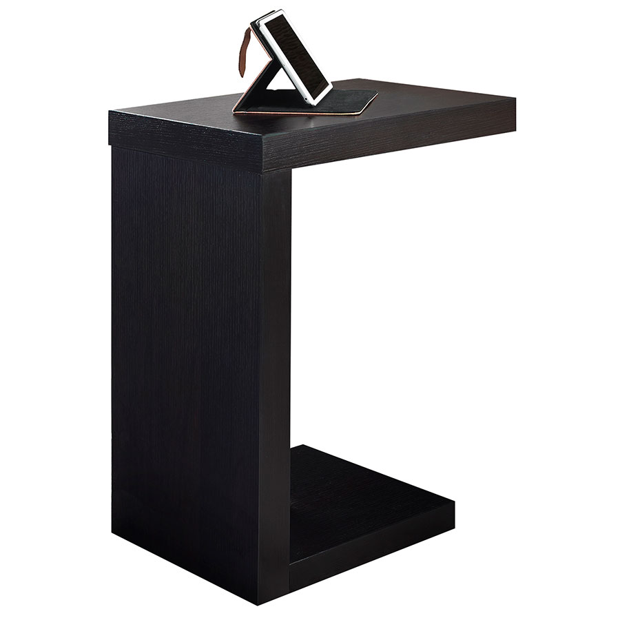 Nick Modern Cappuccino Accent Table