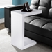 Nick Contemporary White Accent Table