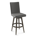 Noah Modern Counter Stool by Amisco w/ Cloud Fabric