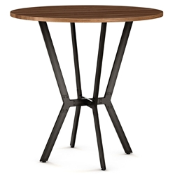 Norcross Modern Bar Table by Amisco - Harley Finish